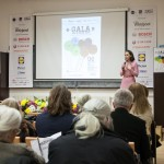 Adela Parvu cuvant de deschidere in numele moodboards.ro organizatorul galei. FOTO Andrei Iliescu