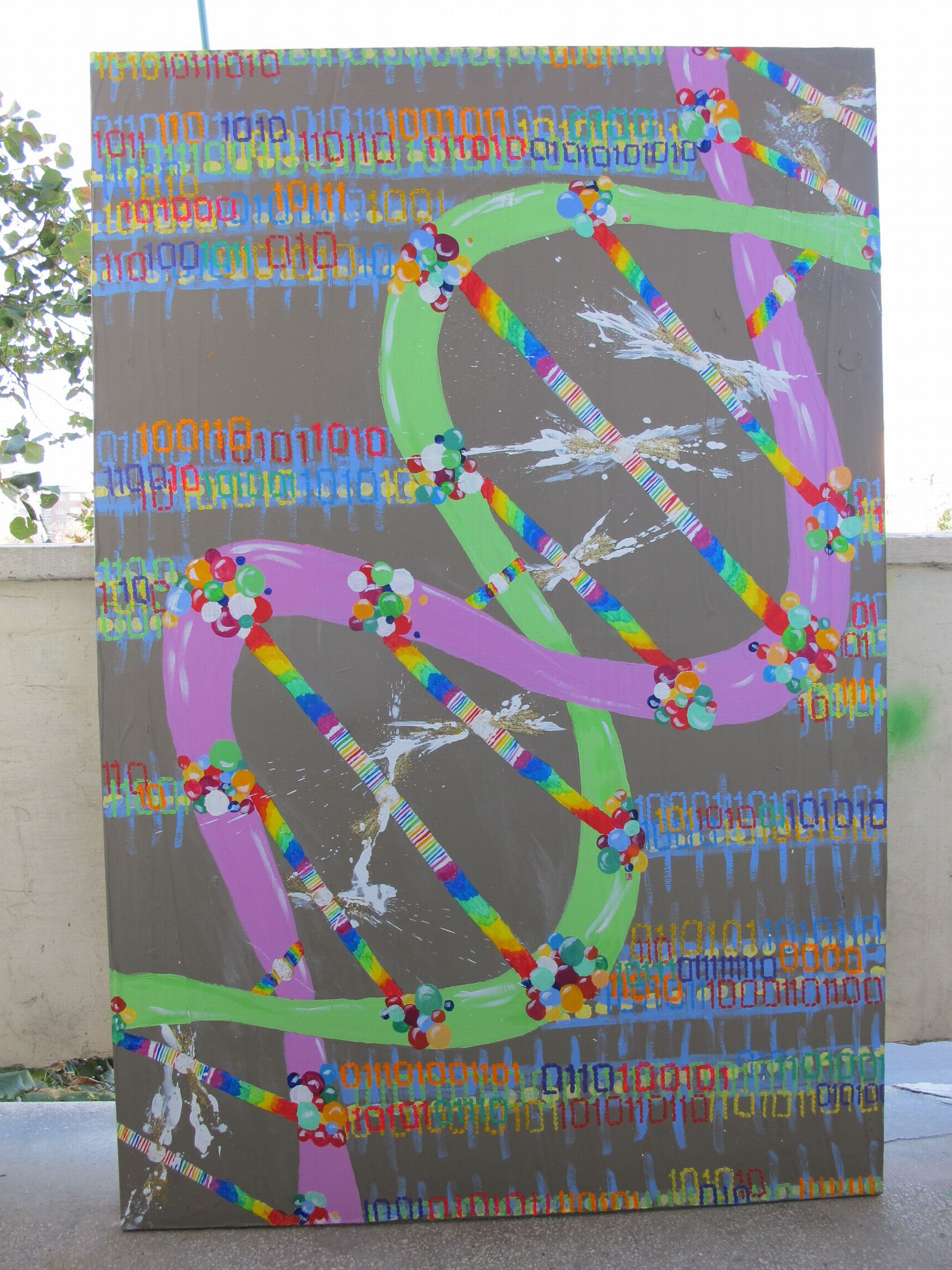 Injecting information, 2012, Adela Parvu