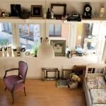 Atelier de artist, locul in care creeaza Barbara Hangan. Foto Adriana Becichi