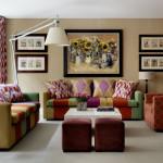 Apartament 3- Drawing room, designer Kit Kemp, interior d ela The Soho Hotel