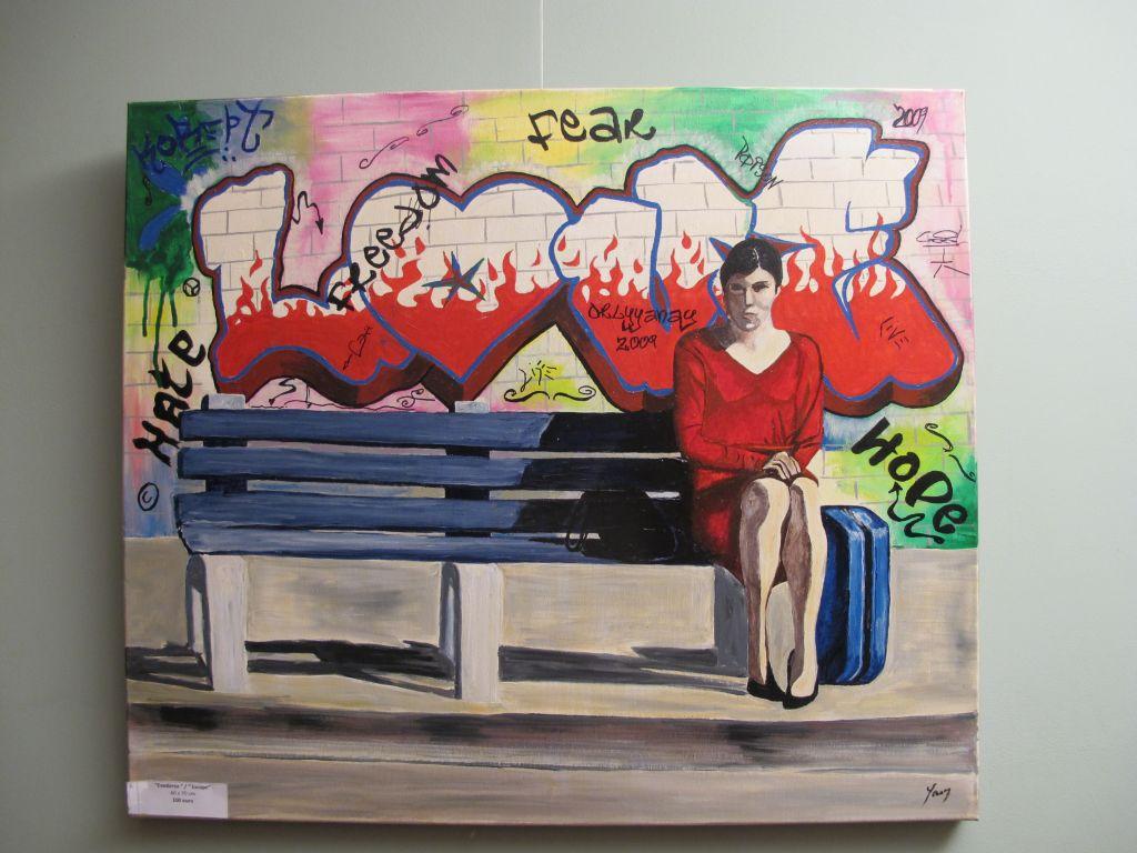 Edavarea/ Escape, 60 x 70 cm,  100 euro, Artist Orly Yanay