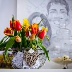 Propunere aranjament de primavara de la Mood Giuvaere florale