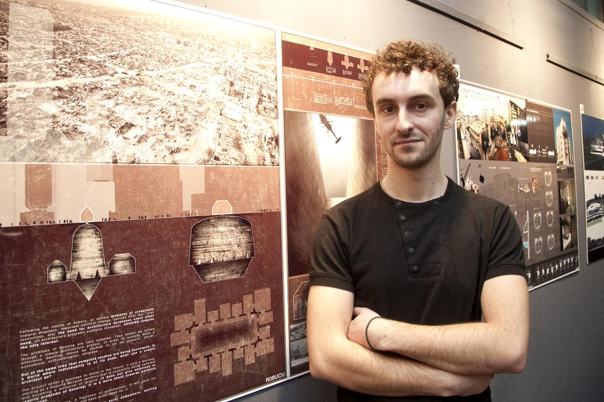 Stefan Nechita student UAUIM castigator al marelui premiu al concursului Unknown 2013