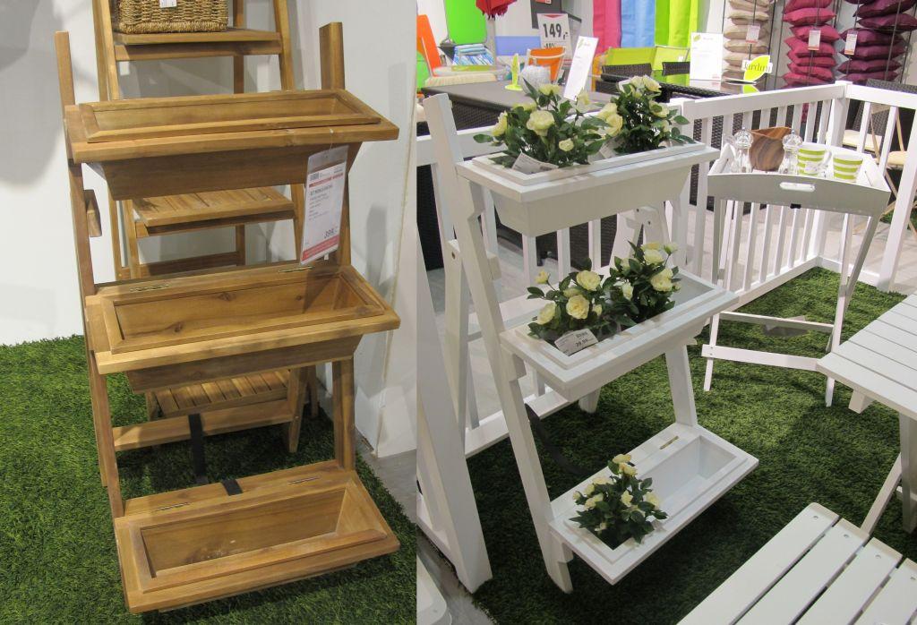 Suport flori la ghiveci pentru balcon gradina sau for Modele de balcon din lemn