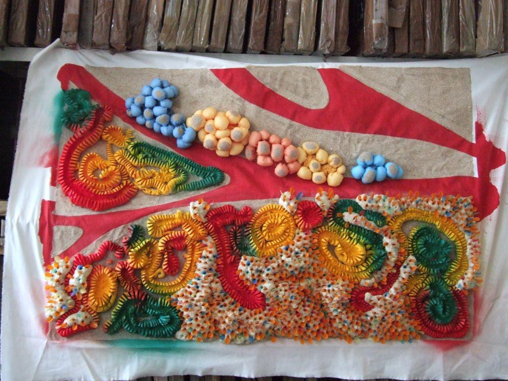 adelaparvu.com despre Arte Textile Ambientale 2013 Master Anul II 2