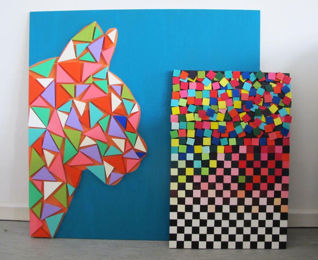 adelaparvu.com despre Liliana Stoica si tablourile sale Deco box (3)
