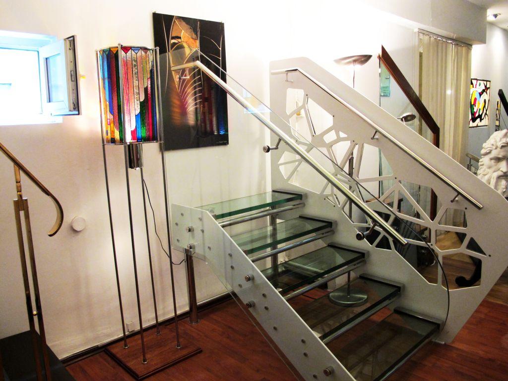 Scara moderna de la SuperFaber proiectata de arh Bogdan Samoila