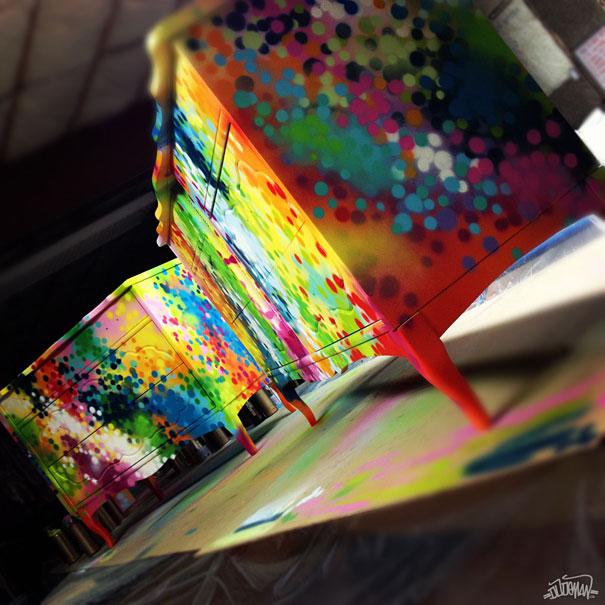 adelaparvu.com despre mobila cu graffiti design Dudeman 3