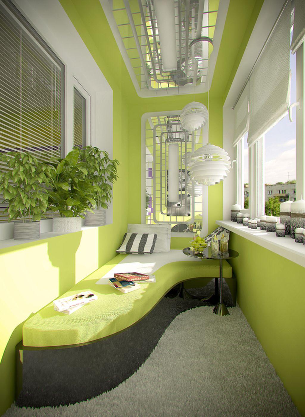 Balcon conceput de designerul Olga Cherednikova