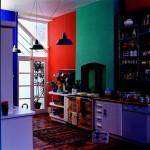 Bucatarie colorata in mai multe nuante Copyright © 2010 Akzo Nobel