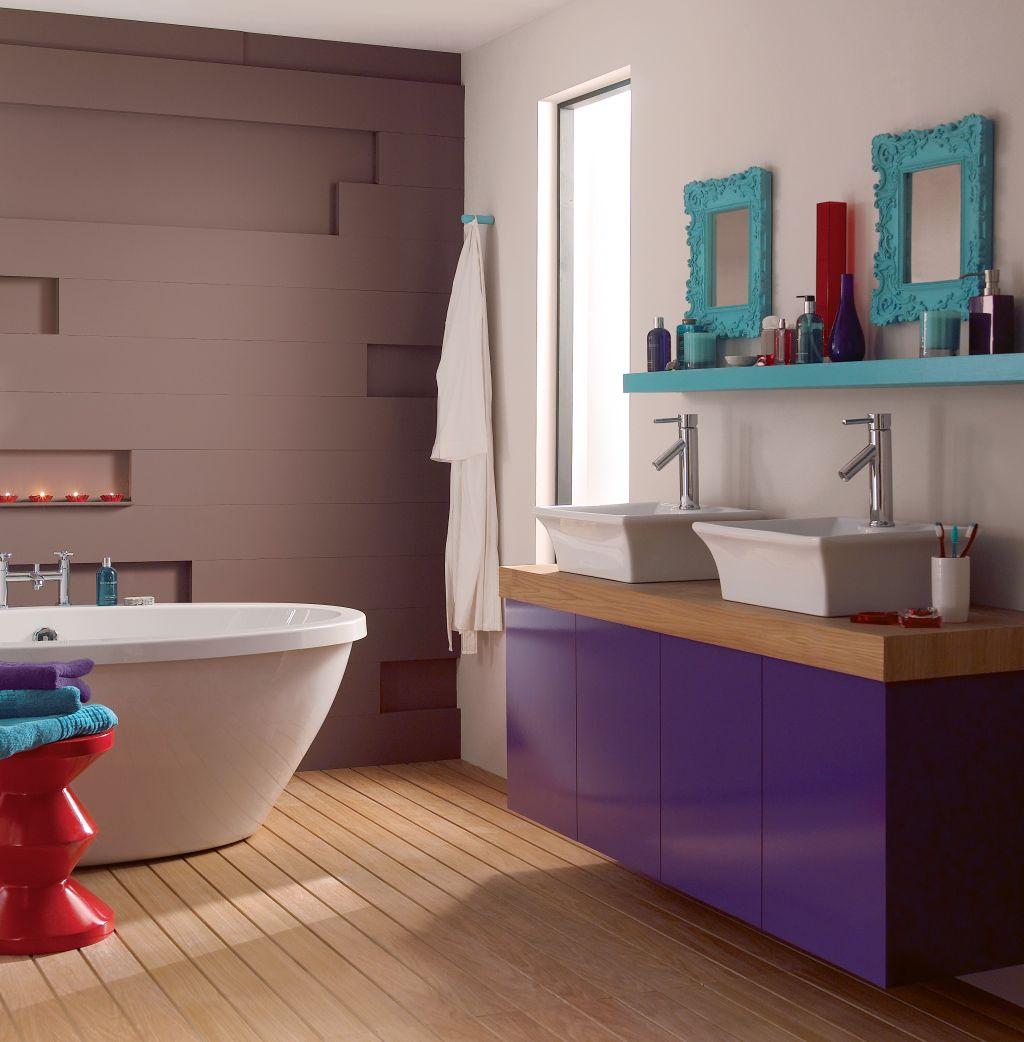 Nuantele de violet pudrate catre lavanda au un efect linistitor Foto Copyright © Akzo Nobel