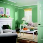 Verde dulce in interior clasic Foto Copyright © Akzo Nobel
