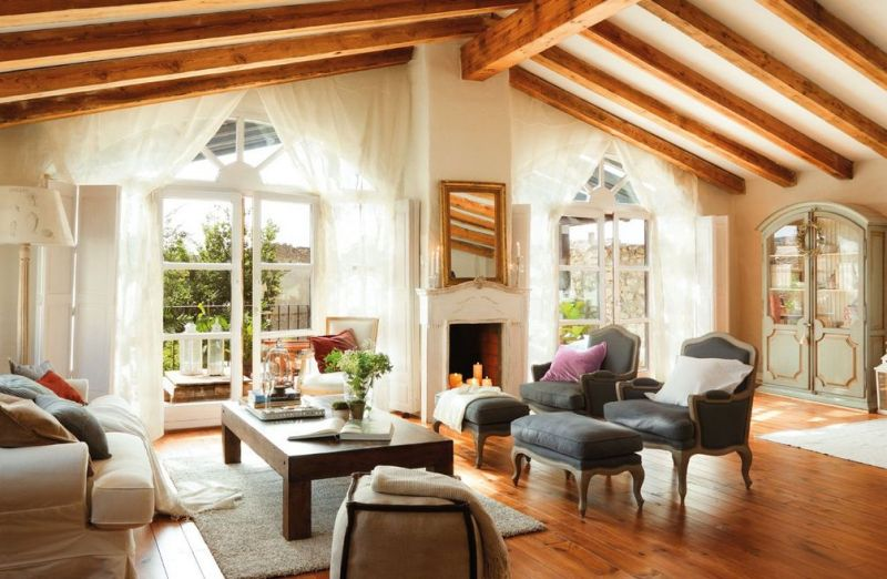 adelaparvu.com despre cum poti combina rustic si shabby chic Foto El Mueble (3)