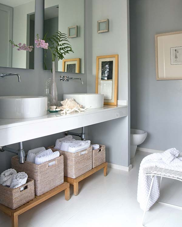 adelaparvu.com despre locuinta cu pereti gri si decor pastelat Foto Micasa 9