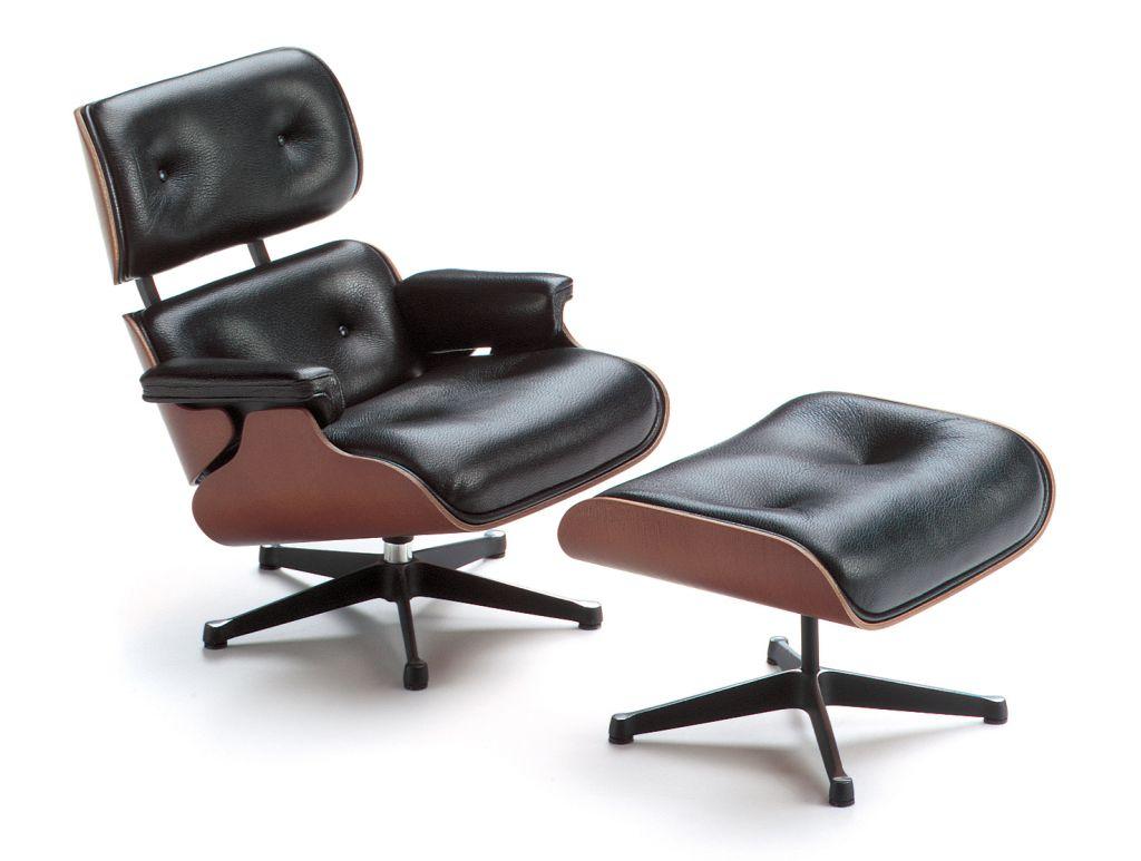 Lounge Chair&Ottoman. Eames. 1956