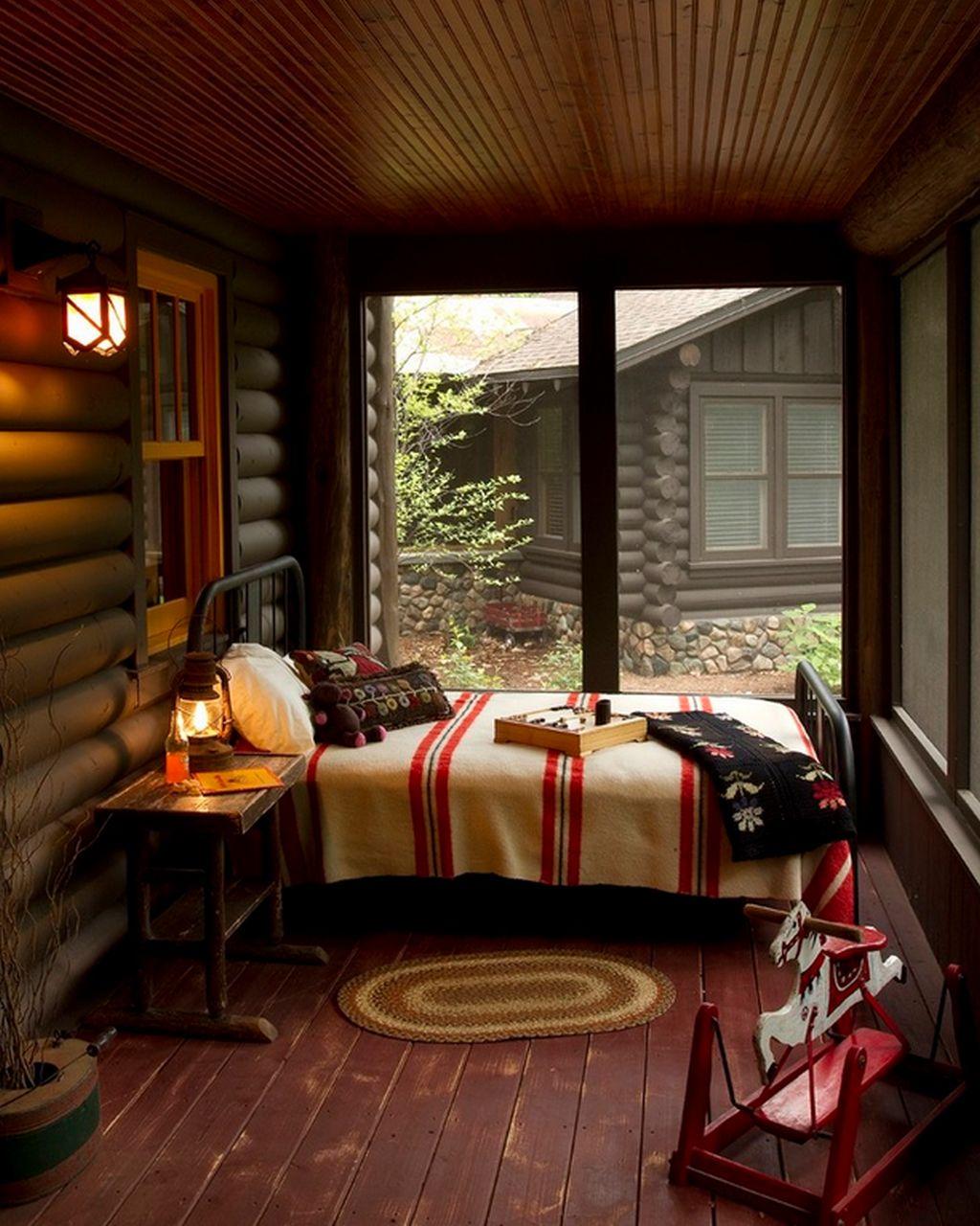 Cabana De Lemn Cu Interior Rustic Adela Parvu Interior Design Blogger