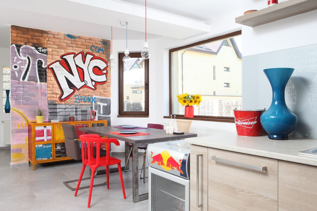 adelaparvu.com despre locuinta in stil urban designer Simona Bonea (1)
