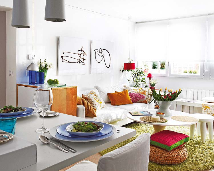 adelaparvu.com despre locuinta mica cu bucatarie deschisa designer Paloma Pacheco Foto Micasa (3)