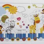 Placi ceramice cu model pentru copii de la Mallol