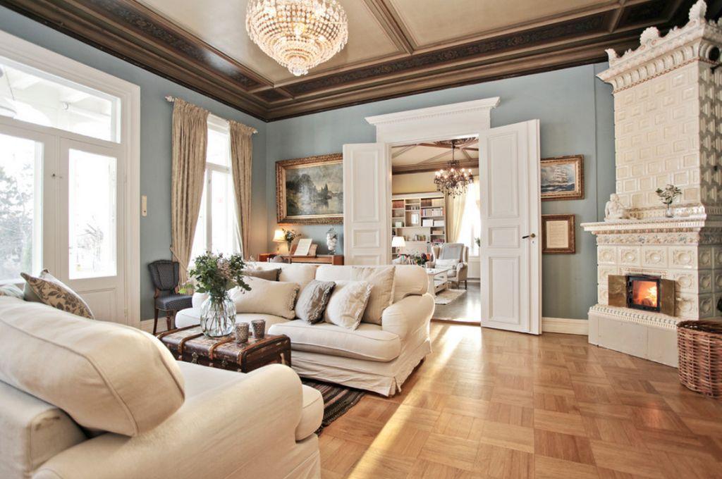 adelaparvu.com despre interior elegant chalet elvetian designer  Anne Cecilie Ranke (7)