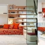 Model living Atoll 000, design Giulio Manzoni si Pierluigi Colombo pentru Clei