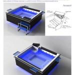 Proiectul de mini piscina spa semnat de Irina Alexandru si desemnat castigator la concursul Belform