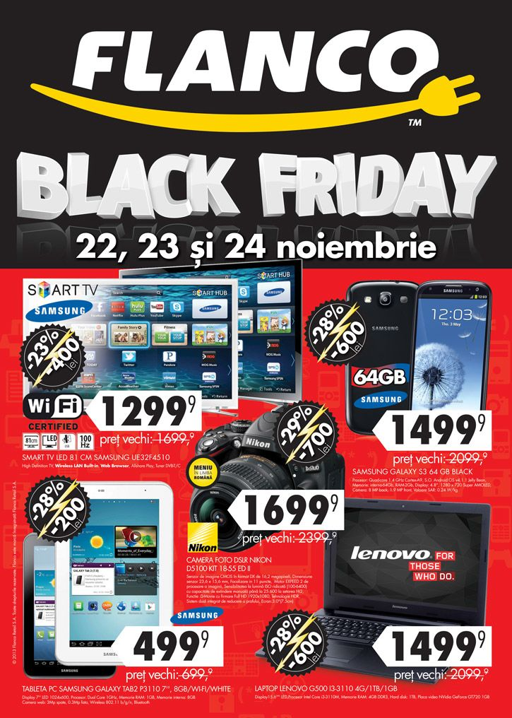 Catalog Flanco Black Friday