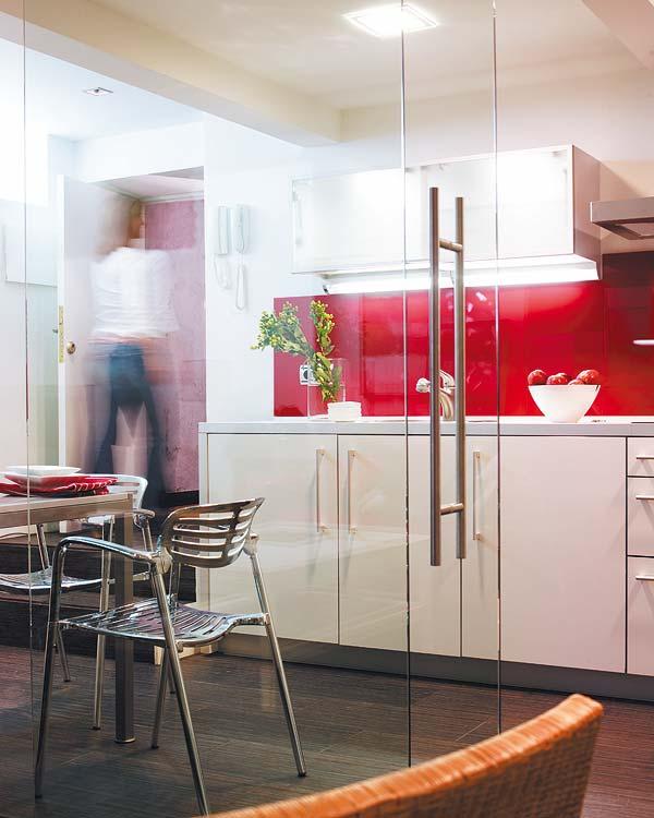 adelaparvu.com despre apartament la subsol Designer Inigo Echave Foto Micasa (4)