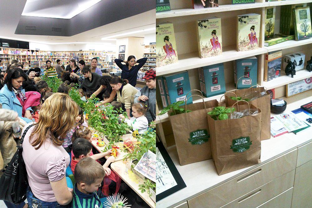 Eveniment Verde Bun la livraria Carturesti in Iasi