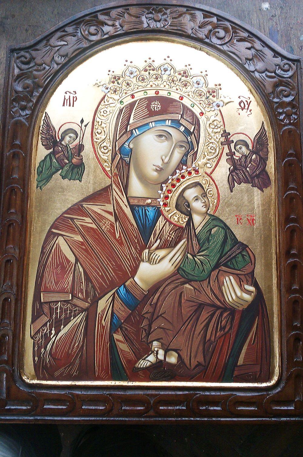 adelaparvu.com despre icoane bizantine pictate de Lorand Kolumban si Jakab Tibor (8)
