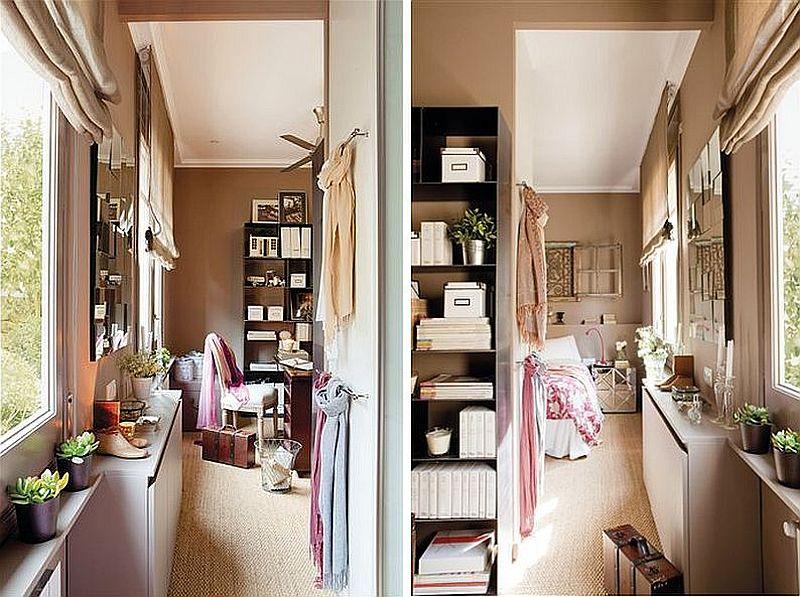 adelaparvu.com despre locuinta cu nunate maro Designer  Lourdes Alba Foto ElMueble (11)