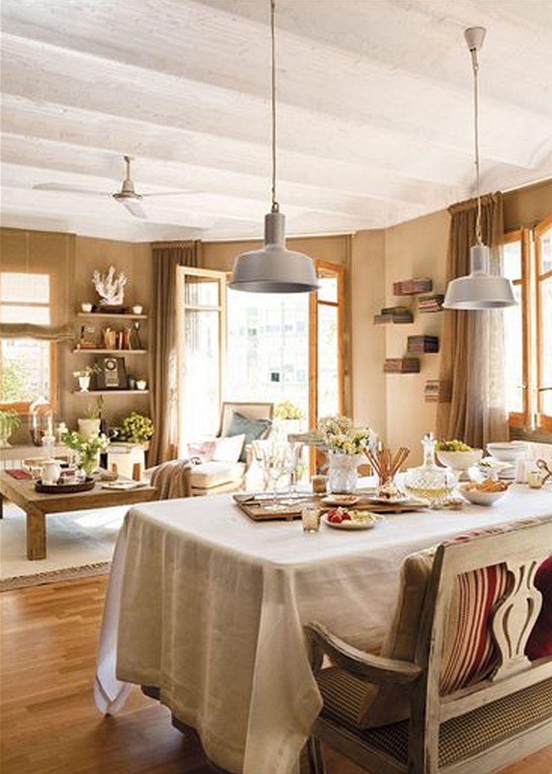 adelaparvu.com despre locuinta cu nunate maro Designer  Lourdes Alba Foto ElMueble (3)