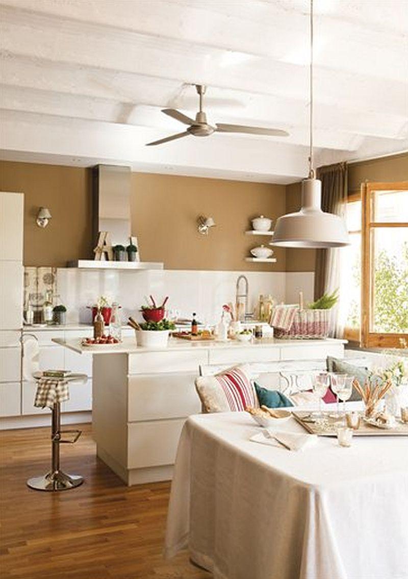 adelaparvu.com despre locuinta cu nunate maro Designer  Lourdes Alba Foto ElMueble (5)