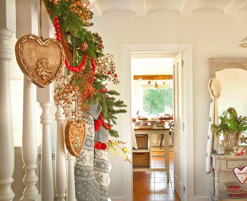 Christmas decoration in Cantabria house, architect Luis Alberto Alonso, Photo ElMueble (11)
