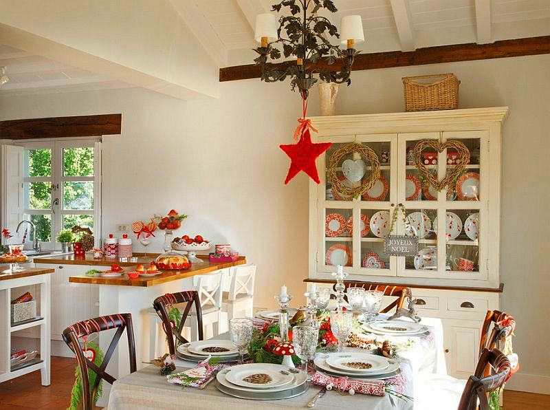 Christmas decoration in Cantabria house, architect Luis Alberto Alonso, Photo ElMueble (15)