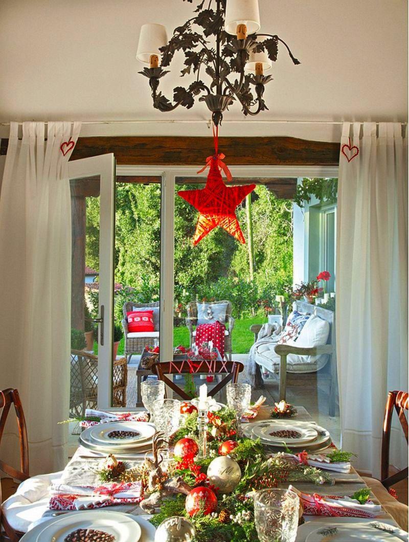 Christmas decoration in Cantabria house, architect Luis Alberto Alonso, Photo ElMueble (17)