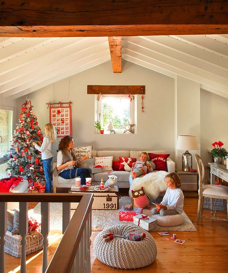Christmas decoration in Cantabria house, architect Luis Alberto Alonso, Photo ElMueble (21)