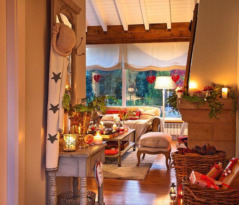 Christmas decoration in Cantabria house, architect Luis Alberto Alonso, Photo ElMueble (29)