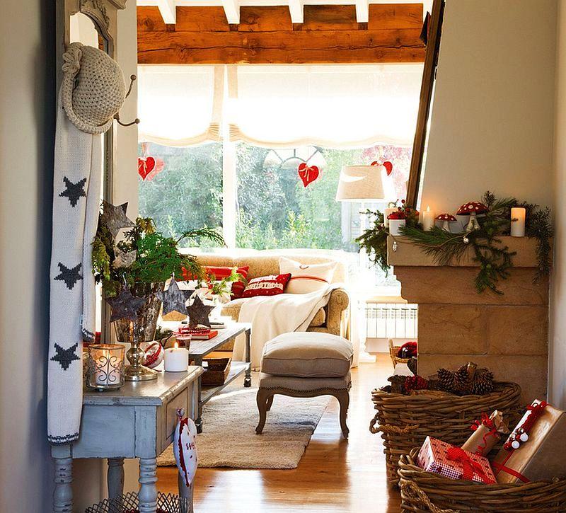 Christmas decoration in Cantabria house, architect Luis Alberto Alonso, Photo ElMueble (3)