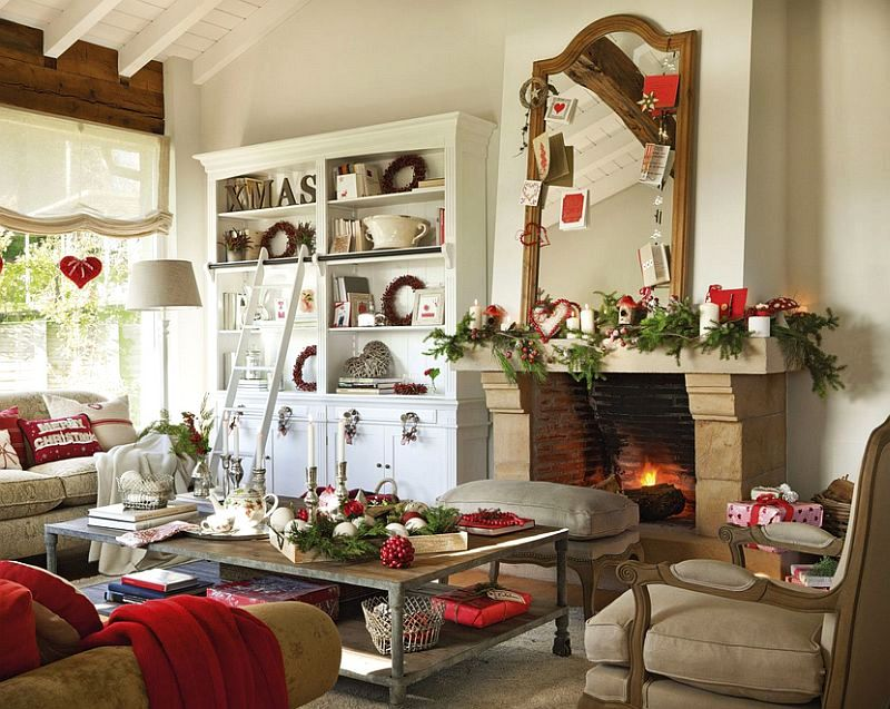 Christmas decoration in Cantabria house, architect Luis Alberto Alonso, Photo ElMueble (6)