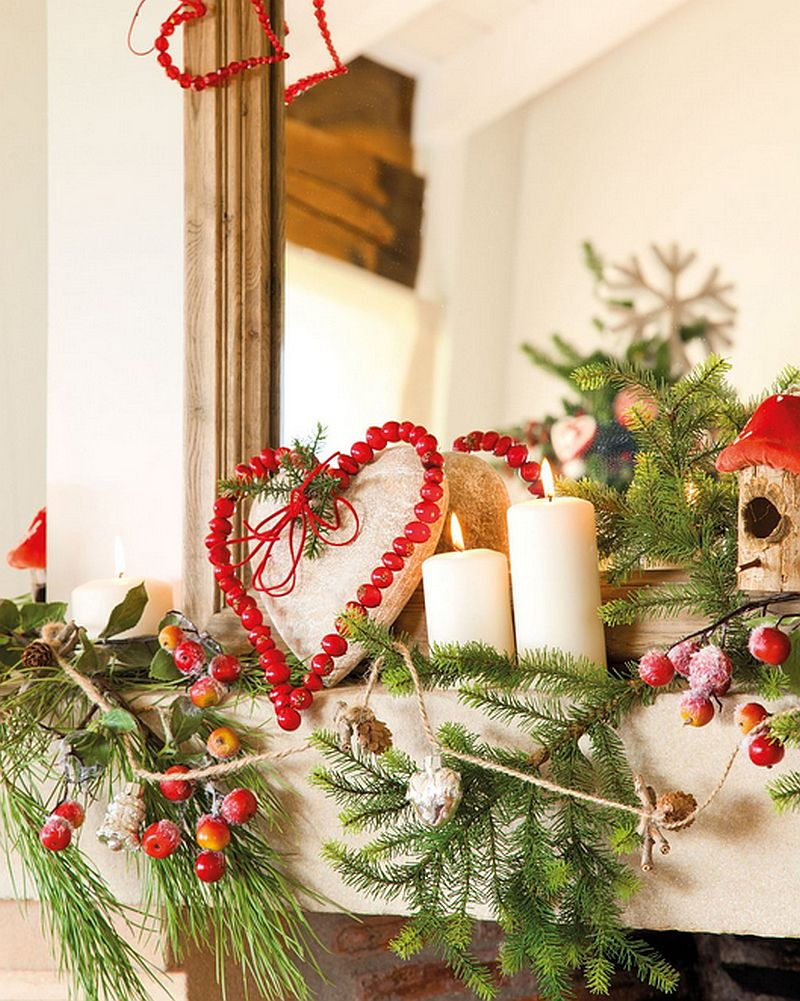 Christmas decoration in Cantabria house, architect Luis Alberto Alonso, Photo ElMueble (7)