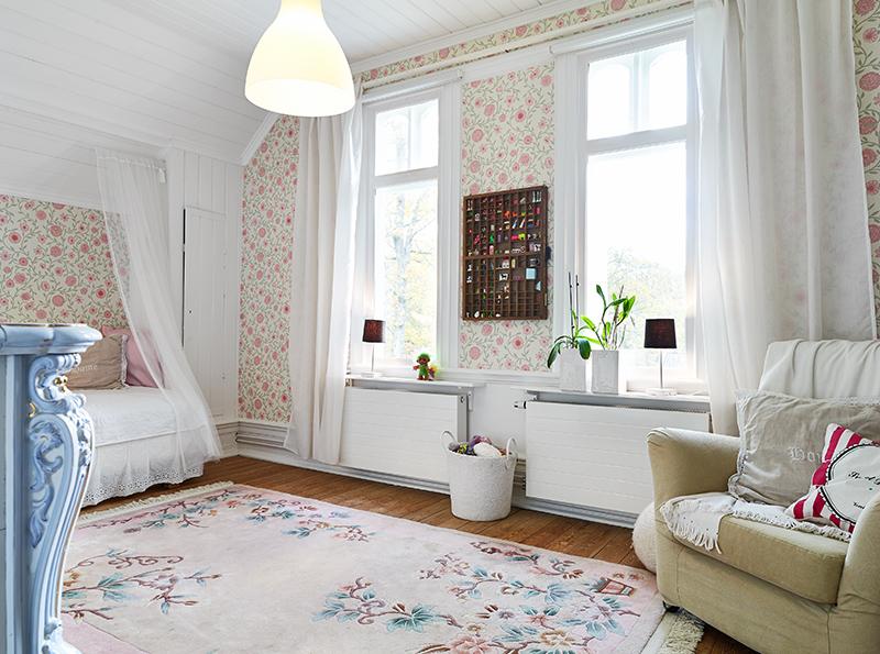 adelaparvu.com about Art Nouveau wood house Sweden Foto Stadshem (29)