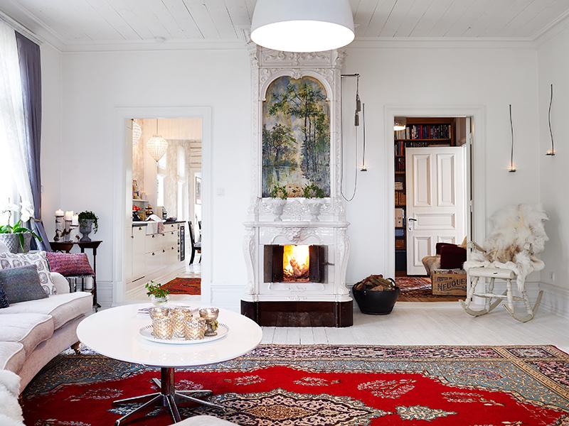 adelaparvu.com about Art Nouveau wood house Sweden Foto Stadshem (31)