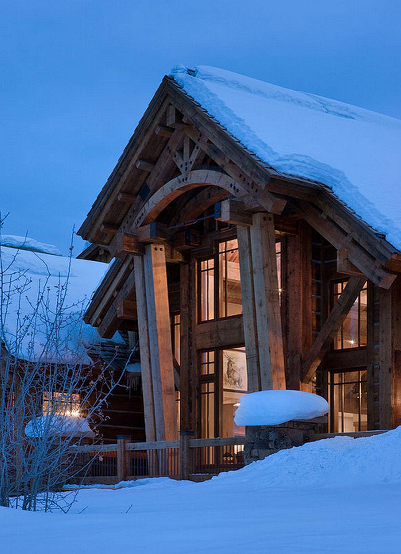adelaparvu.com about Elk Ridge Lodge, Architects Centre Sky Architecture , Photo Roger Wade  (24)