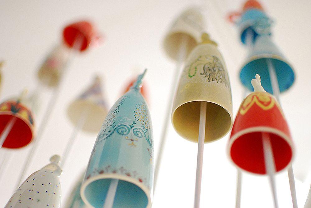 Clopotei ceramici Cristina Ciobanu