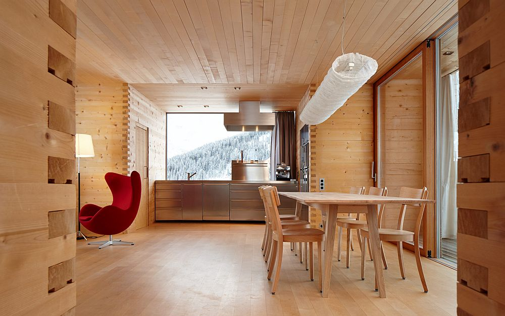 adelaparvu.com about Zumthor Vacantion House Swiss, Architect Peter Zumthor, Photo Ralph Feiner (14)