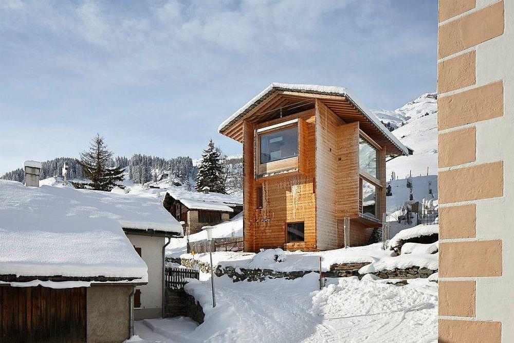adelaparvu.com about Zumthor Vacantion House Swiss, Architect Peter Zumthor, Photo Ralph Feiner (4)