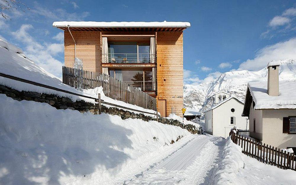 adelaparvu.com about Zumthor Vacantion House Swiss, Architect Peter Zumthor, Photo Ralph Feiner (6)
