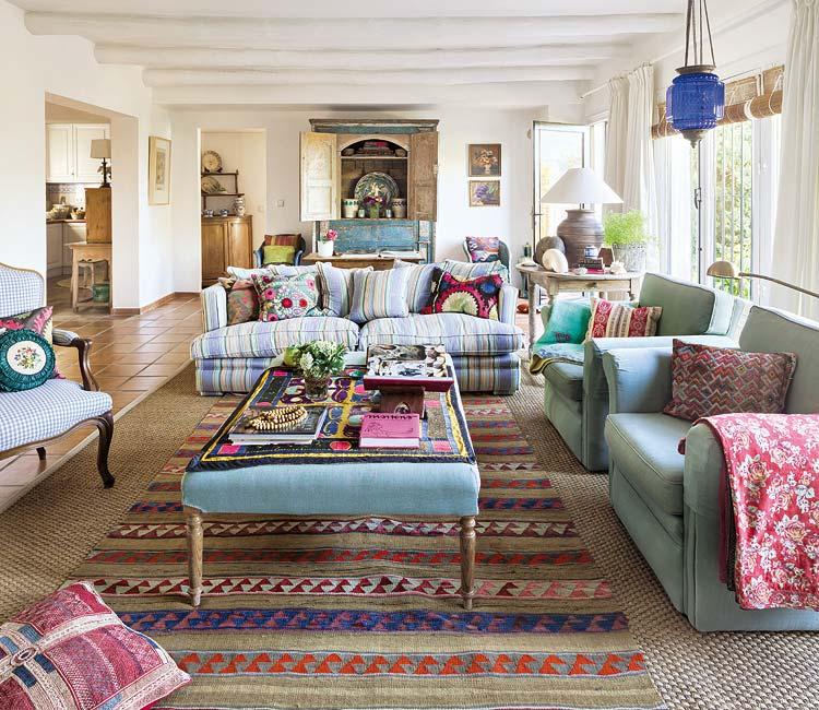 adelaparvu.com about eclectic rustic house in Malaga designer Christine Van Hoecke, Photo Micasarevista (13)