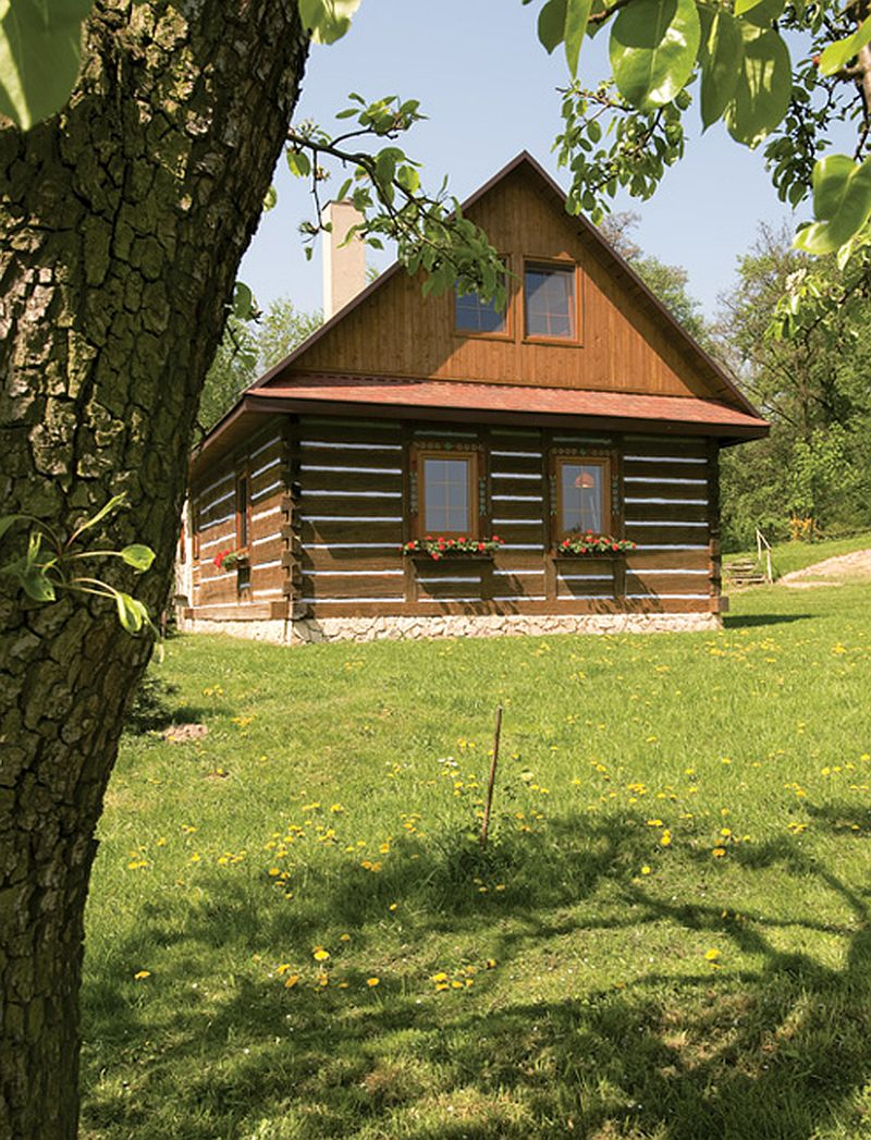 adelaparvu.com about old log house Photo  Marek Szymanski, Weranda Country (2)